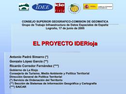 CONGRESO MURCIA - Geoportal IDEE