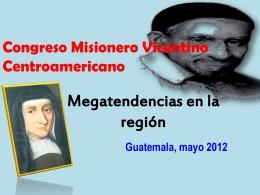Congreso Misionero Vicentino Centroamericano