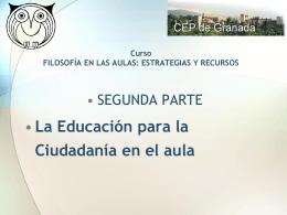"""Nombre del Congreso"""" - Aula virtual de los CEP de Granada"""