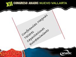 CONGRESO ANADIC 2012