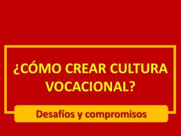 I CONGRESO MEXICANO DE PASTORAL VOCACIONAL