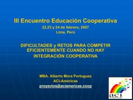 IV Congreso Paraguayo de Cooperativas.