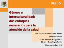 Congreso INSP 2009 - Maternidad sin riesgos