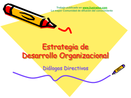 I Jornadas Estrategia de Desarrollo Organizacional
