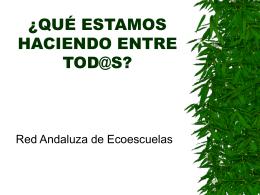 RED ANDALUZA DE ECOESCUELAS