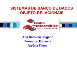 Objeto Relacional + Oracle8i