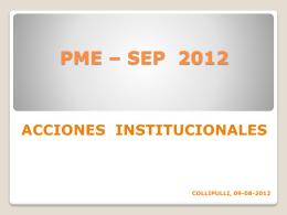 PME – SEP 2012