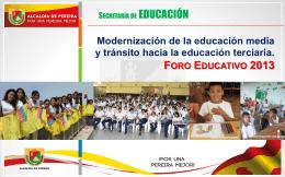 """Diapositiva 1 - """"INSTITUCION EDUCATIVA BOYACA PERERA"""