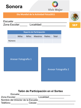 Diapositiva 1 - CODESON www.codeson.gob.mx