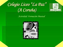"""Colegio Liceo """"La Paz"""""""