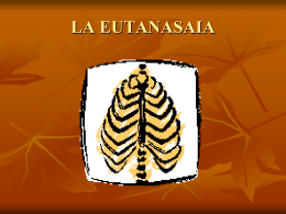 LA EUTANASAIA - Justicia Forense