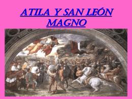 ATILA Y SAN LEON MAGNO