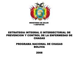 Diapositiva 1 - ...::: Ministerio de Salud de Bolivia
