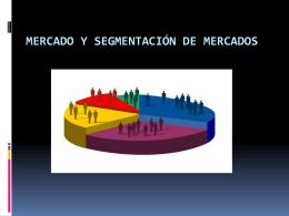 CAPITULO 4 MECADO Y SEGMENTACION DE MECADOS