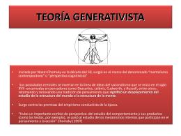 Generativismo