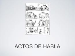 ACTOS DE HABLA - Todo el lenguaje