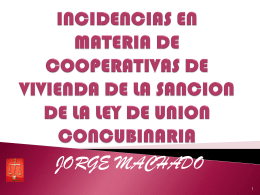 UNION CONCUBINARIA LEY 18.246 Sancionada el 18 de