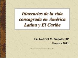 Diapositiva 1 - Provincia Santa Rosa de Lima