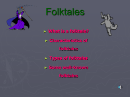 Folktales - Lamar R-1 School District-
