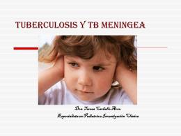 TUBERCULOSIS EN PEDIATRIA TRATAMIENTO