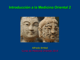 INTRODUCCION A LA MEDICINA CHINA