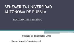 BENEMERITA UNIVERSIDAD AUTONOMA DE PUEBLA