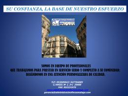 Diapositiva 1 - Administracion Fincas Malaga
