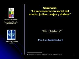 """Microhistoria"""""""