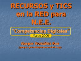 RECURSOS EN RED
