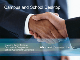 Understanding Microsoft Campus Agreement