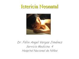 Ictericia Neonatal (Hiperbilirrubinemia de predominio