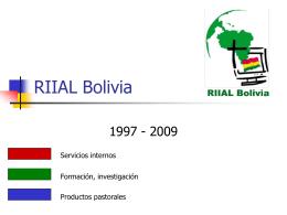 RIIAL Bolivia