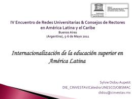 IESALC, Encuentro de Redes, Buenos Aires (Argentina). 5