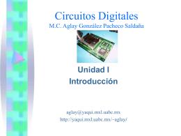 Circuitos Digitales I, Unidad I