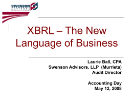 XBRL - Accounting Day