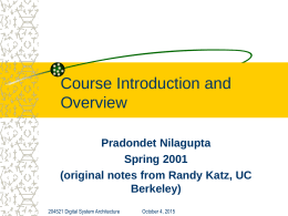 Course Introduction and Overview