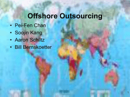 Offshore Outsourcing - University of Missouri