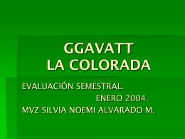 GGAVATT LA COLORADA