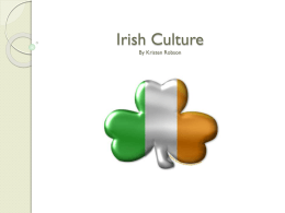 Irish Culture - This is the place. | Mercyhurst College