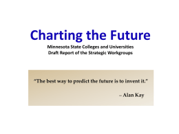 Charting the Future Minnesota State Colleges and …