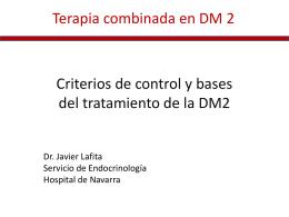 Terapia combinada en DM 2