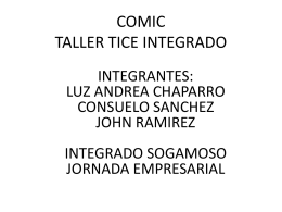 COMIC TALLER TICE INTEGRADO