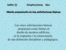 taller @ - Construcciones Uno