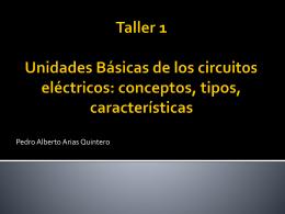 Taller 1 Conceptos de electricidad 1 parte