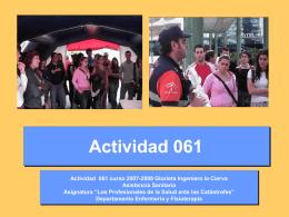 Actividad 061 - Departamentos