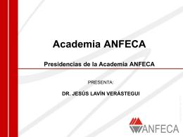Academia ANFECA - CUDI