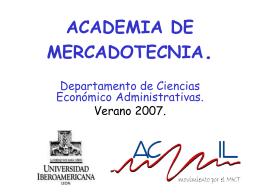Academia de Mercadotecnia