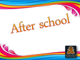 AFTER SCHOOL - Inicio | TEOCALI