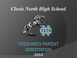 Registration Form - Clovis North Educational Center