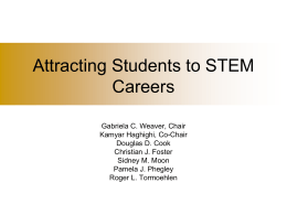 Attracting Students to STEM Careers